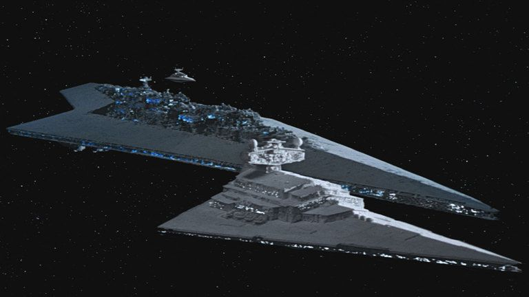 The biggest Star Wars spaceship casts a shadow the size of Manhattan
