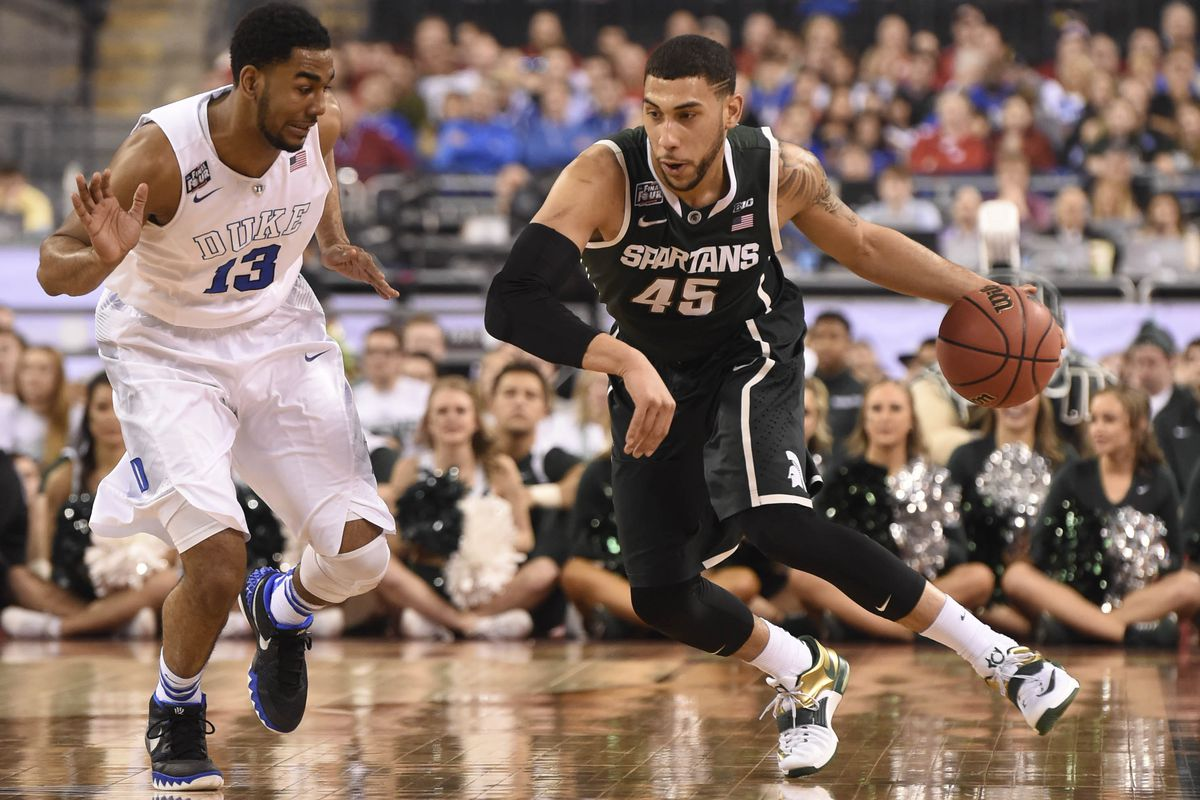 sports shoes cae3d 5f804 Denzel Valentine a Point Guard For Michigan State? Yes ...