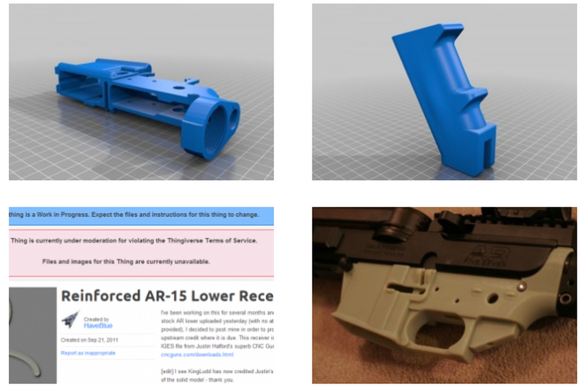 3D printed gun enthusiasts build site for firearm files after