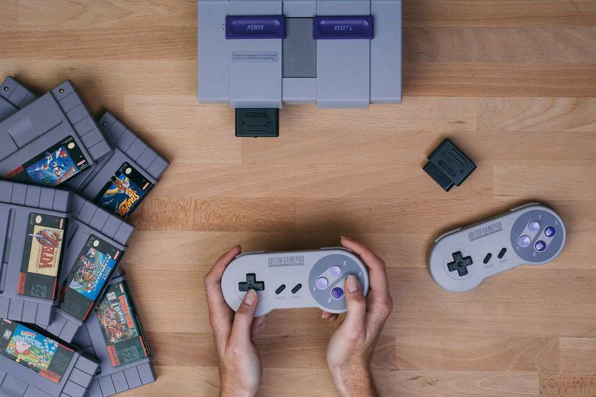 Play your snes with a wireless controller using this new - How much is a super nintendo console worth ...