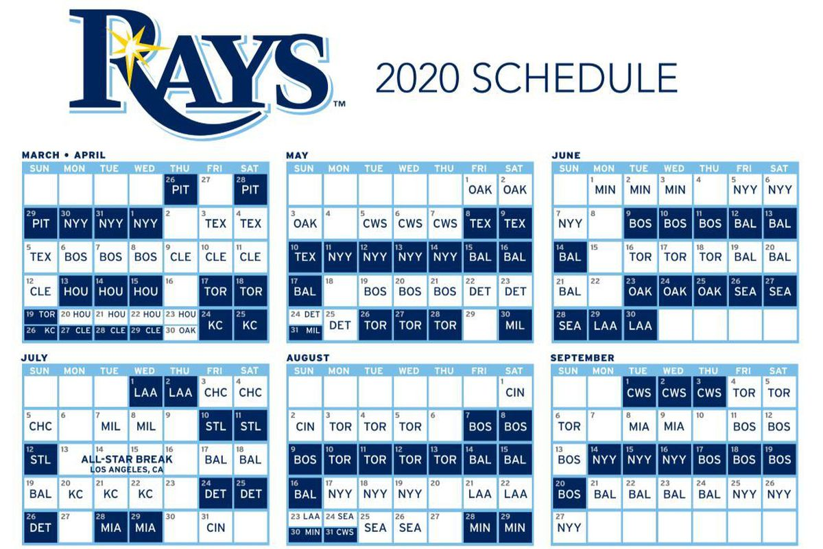 Pirate Schedule 2020 Rays pull 2020 schedule from the X Files   DRaysBay