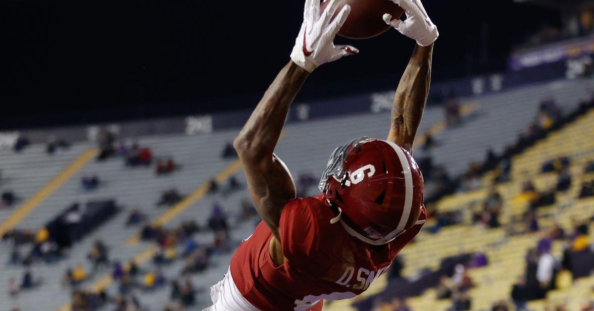 Alabama football countdown: '20 belonged to DeVonta Smith - Roll Bama Roll