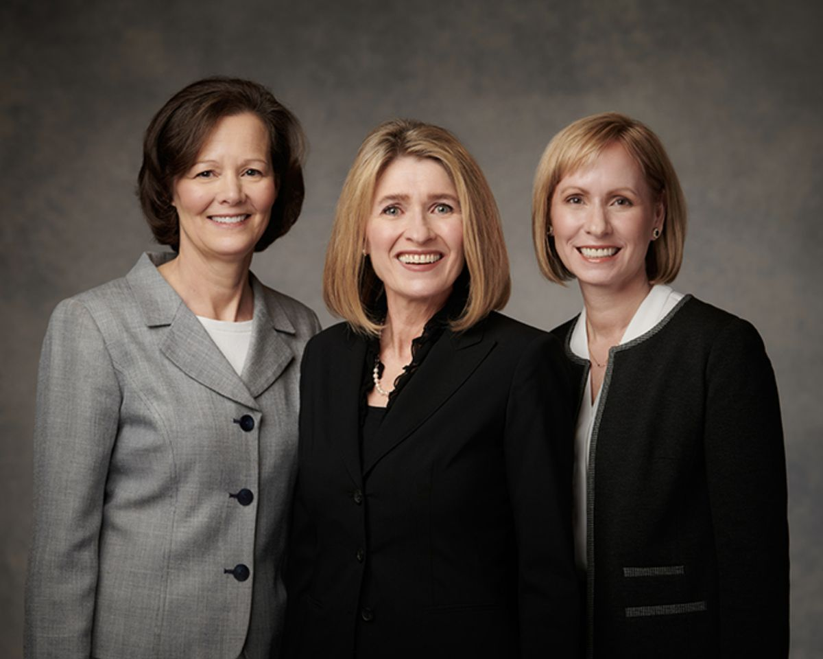 The Primary general presidency as of April 2021: Sister Camille N. Johnson, president, center, Sister Susan H. Porter, first counselor, left, and Sister Amy Wright, second counselor.