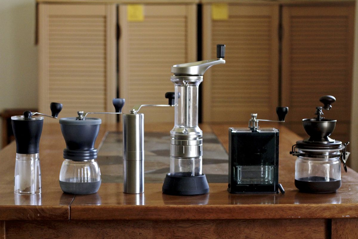 e52372bf0eb Gadget Review: Six of the Best Hand Coffee Grinders - Eater