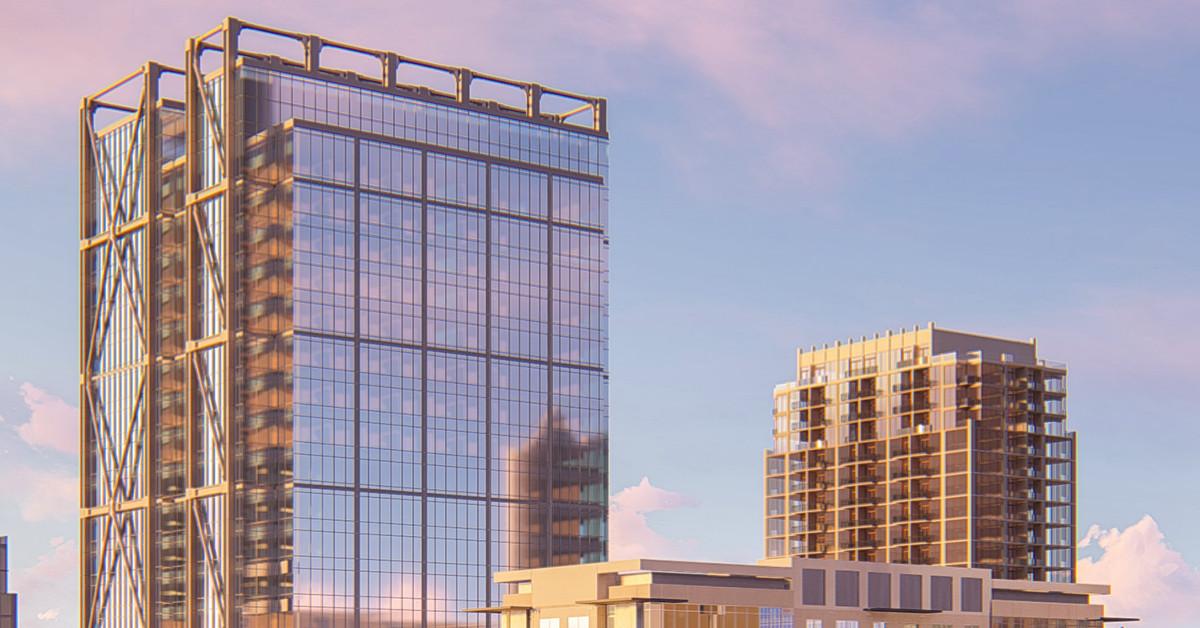 Renderings In Midtown Atlanta Block Consuming Multi