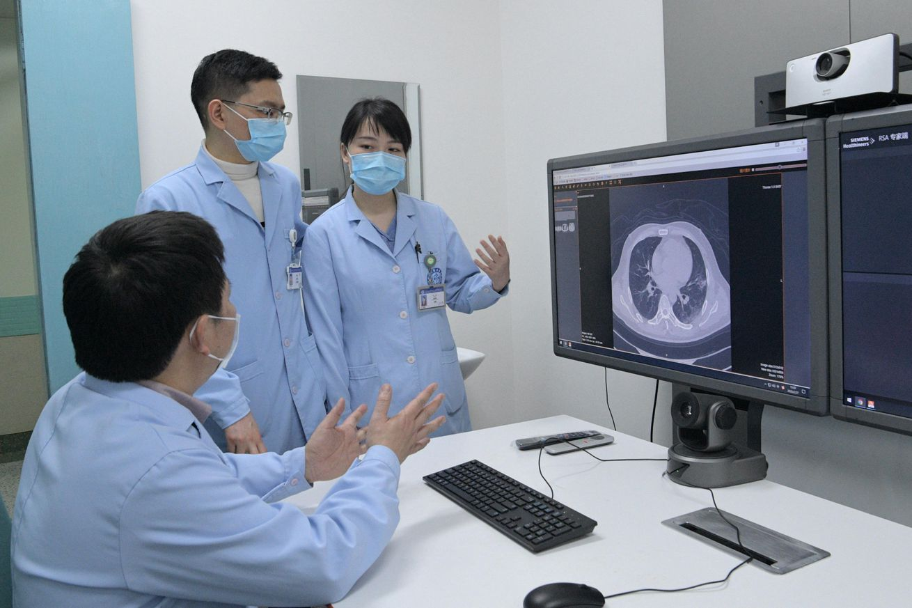 5G-aided Remote CT Scans Used To Diagnose COVID-19 Patients In China