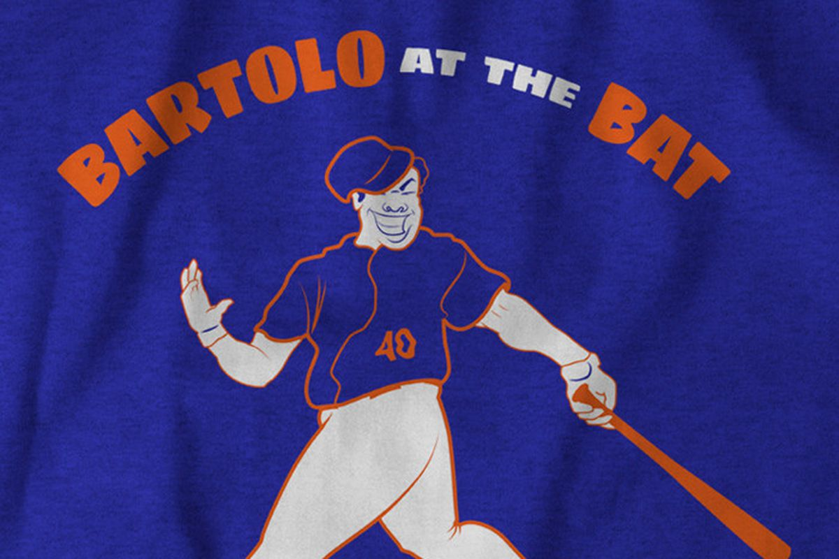 Bartolo in t-shirt form.