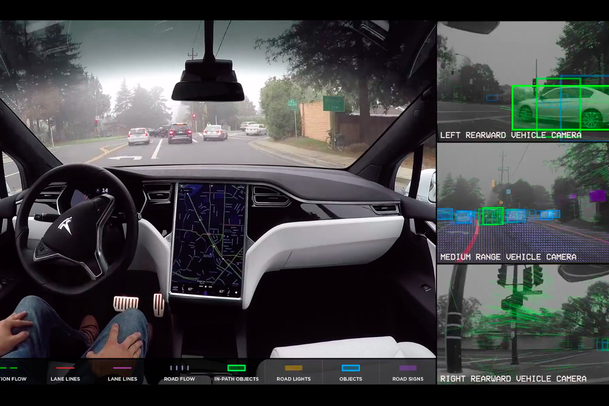 here�s what it�s like to ride in a selfdriving tesla recode