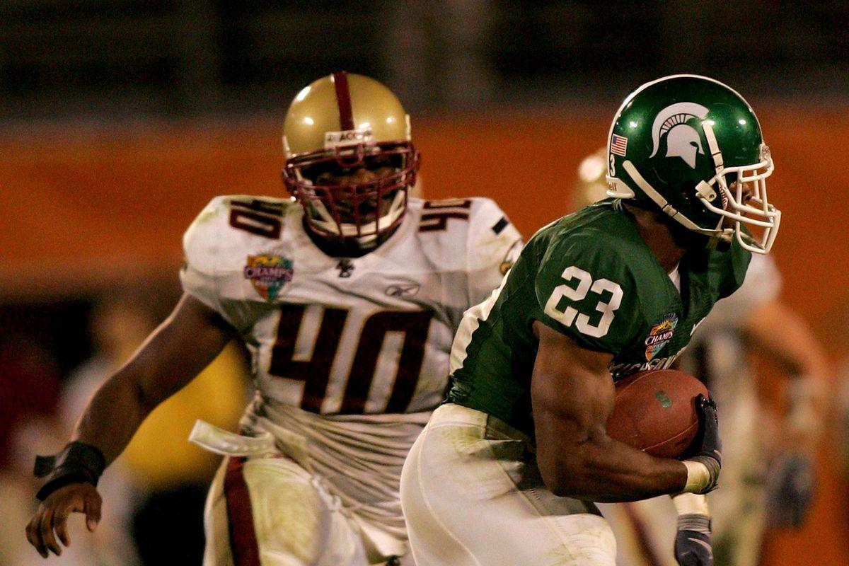 Champs Sports Bowl - Boston College v Michigan State