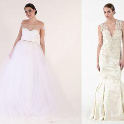 Left Designer: Anastasia Basista, 2014; Photographer: Swaine / Right Designer: Rebecca Lafrate; Photographer: Yoshioka
