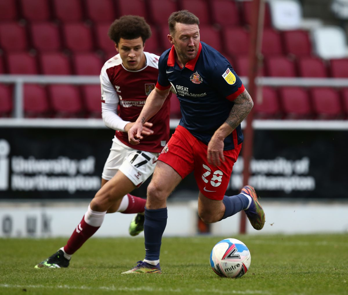 Northampton Town v Sunderland - Sky Bet League One