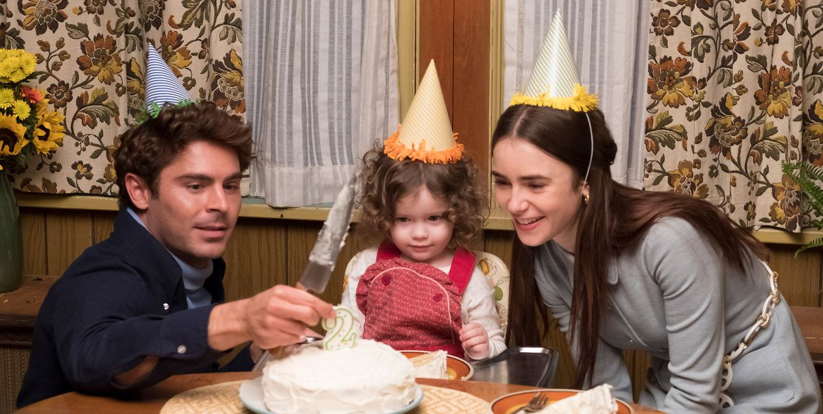 Zac Efron, Macie Carmosino, and Lily Collins inExtremely Wicked, Shockingly Evil and Vile - Sundance 2019