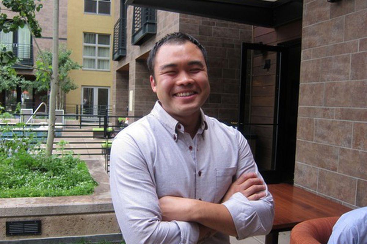 Top Chef Paul Qui.
