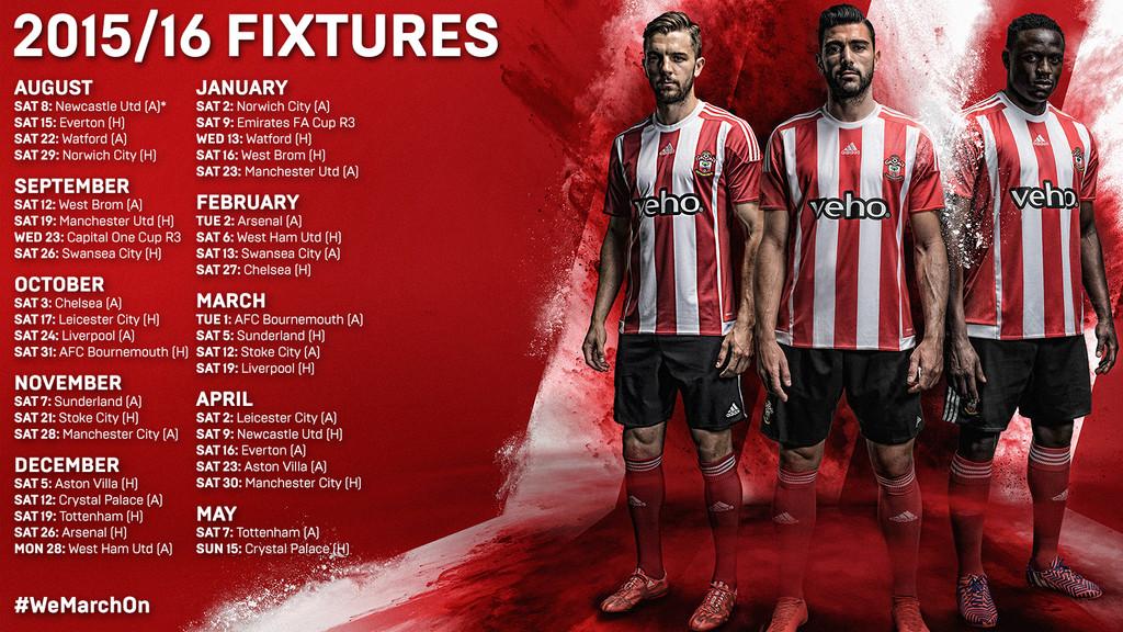 Saints Fixtures
