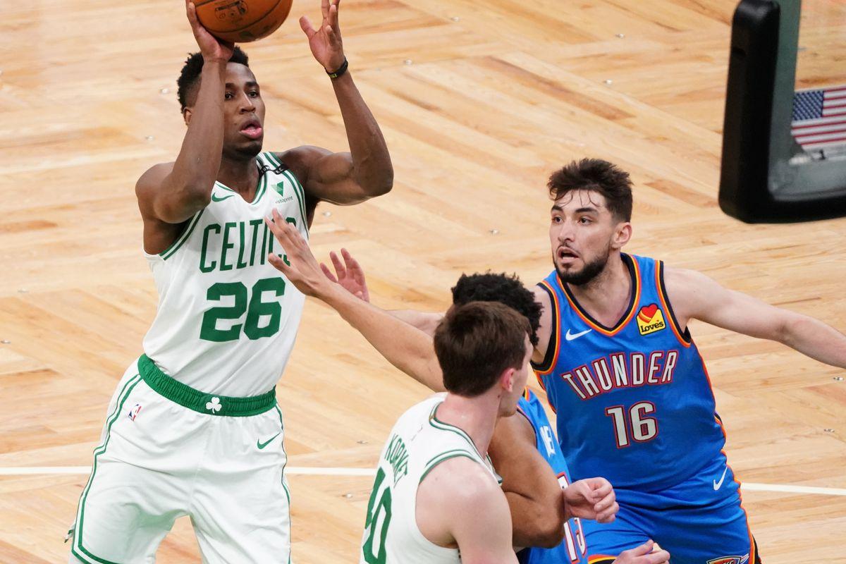 NBA: Oklahoma City Thunder at Boston Celtics