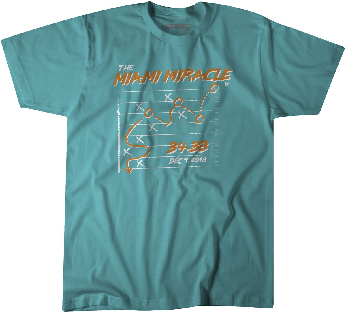 buy online f5bf4 2ce4e Miami Miracle t-shirts now available - The Phinsider