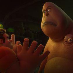 Ralph meets a virus