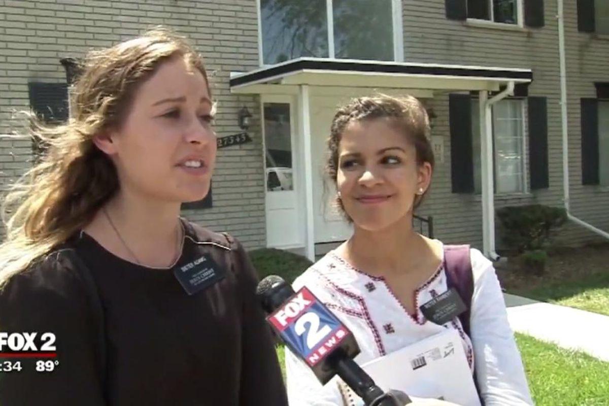 Sister Adams and Sister Rambert went door-to-door to save their neighbors from carbon monoxide poisoning.