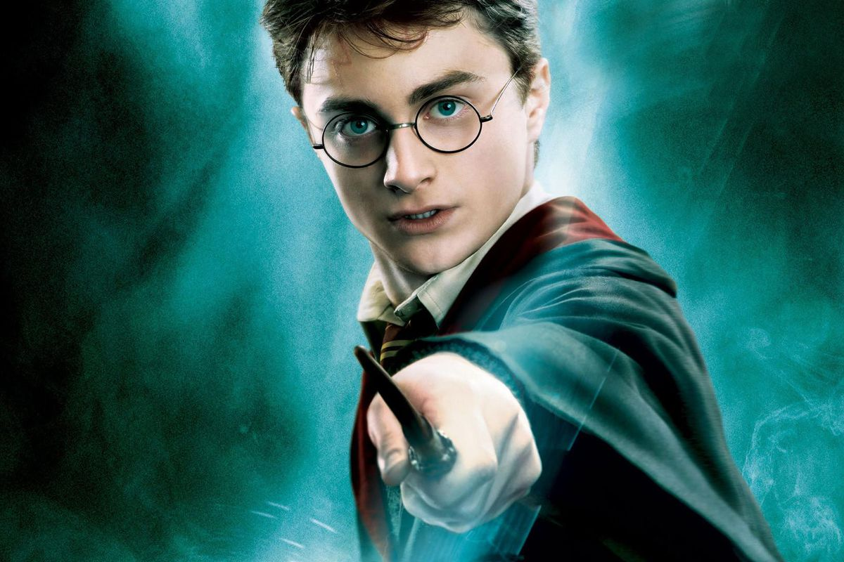 A promotional image for Harry Potter