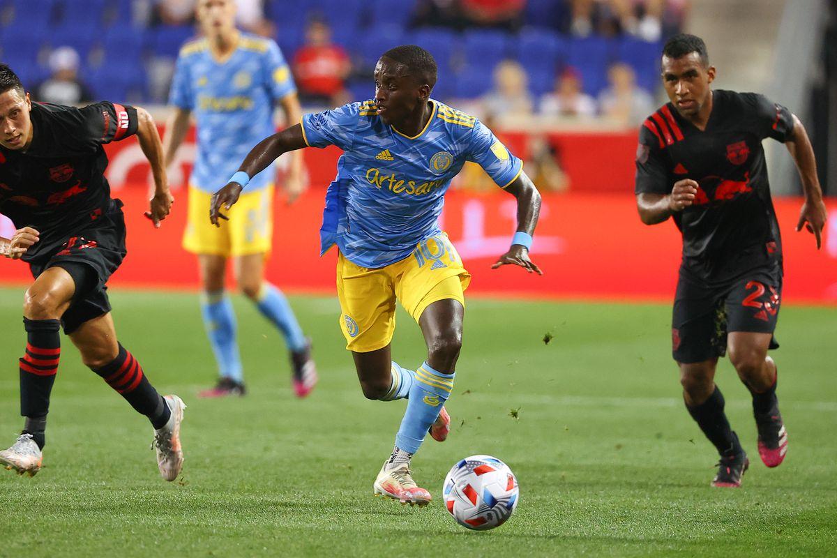 SOCCER: JUL 08 MLS - Philadelphia Union at New York Red Bulls