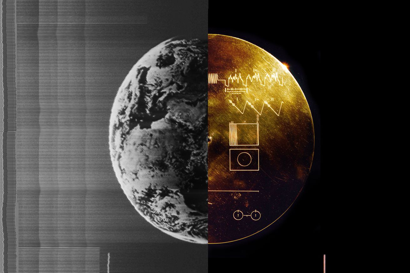 decoding images from the golden record