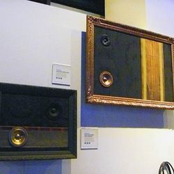 Rebaroque's $1300 speakers (they double as wall art)