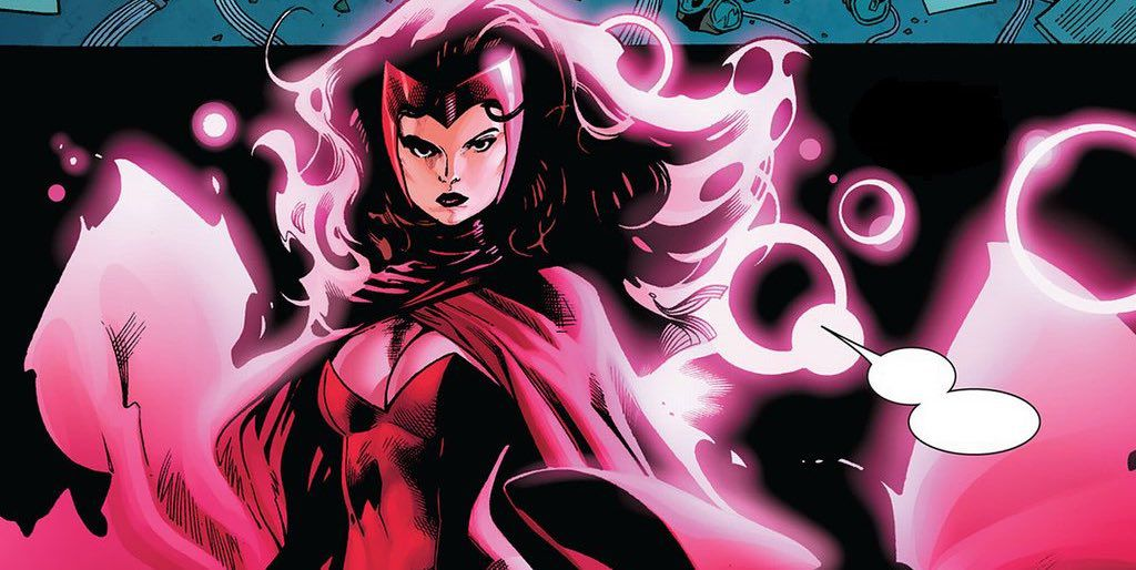 Wanda Maximoff/The Scarlet Witch, in Avengers vs. X-Men #7, Marvel Comics (2012).
