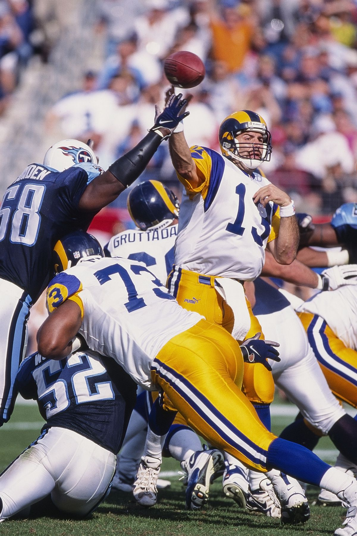 St. Louis Rams v Tennessee Titans
