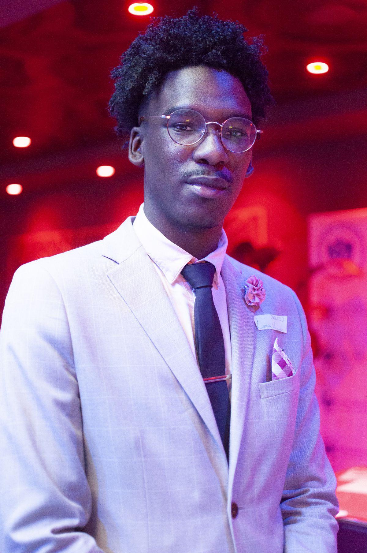 Lamar Washington, event coordinator for Newark's Great Oaks Legacy Charter Schools.