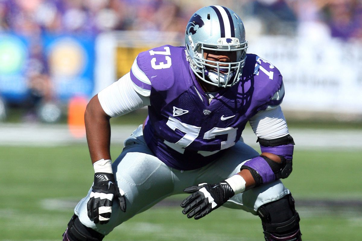 Tavon Rooks was an extremely sound right tackle for Kansas State. I think, in a couple of years, Alec Ruth could be providing the same service for the Wildcats.