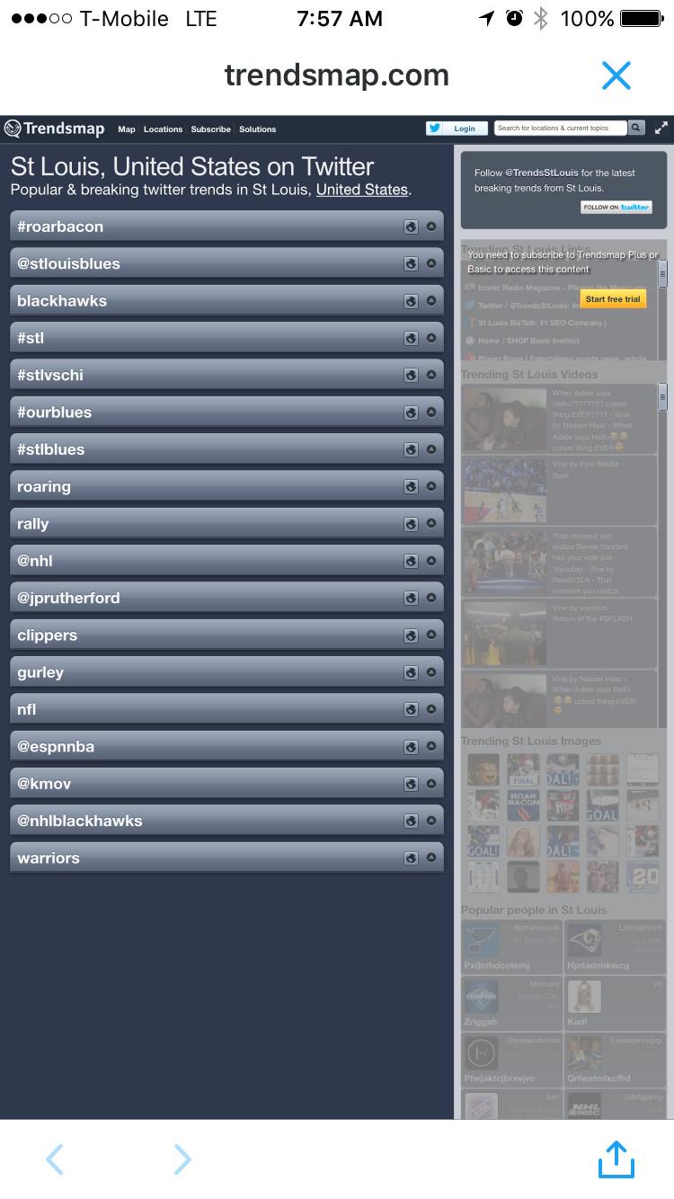 Trends RoarBAcon