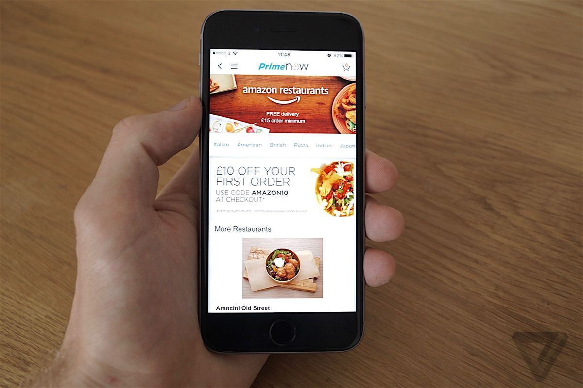 Amazon S Restaurants Delivery Service Is Shutting Down The