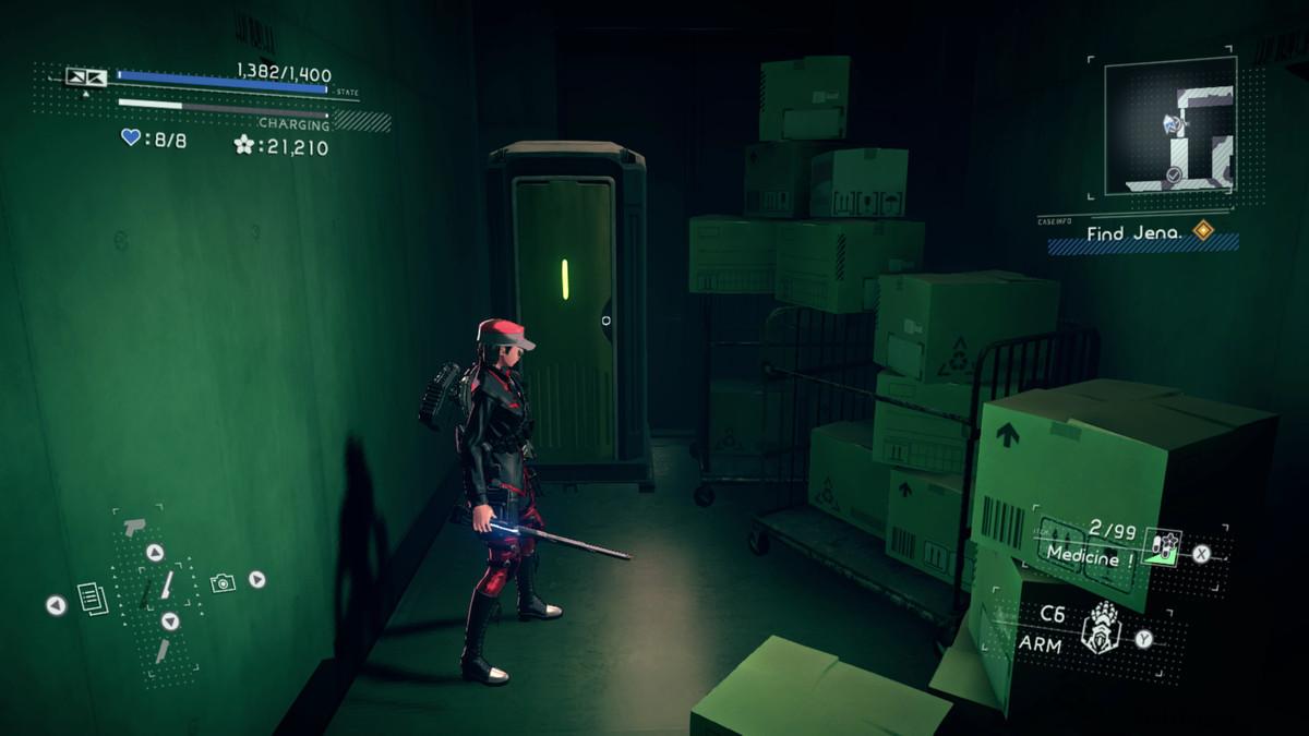 Astral Chain File 04: Bathroom location