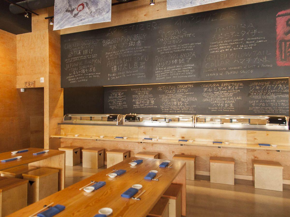 Sushi Bayashi at Trinity Groves.
