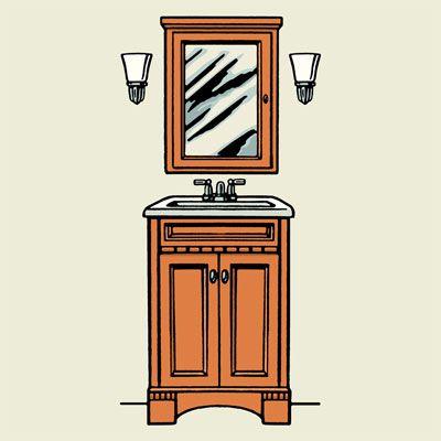 Bathroom Vanity Lights Height