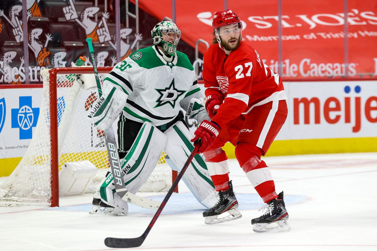 NHL: MAR 20 Stars at Red Wings
