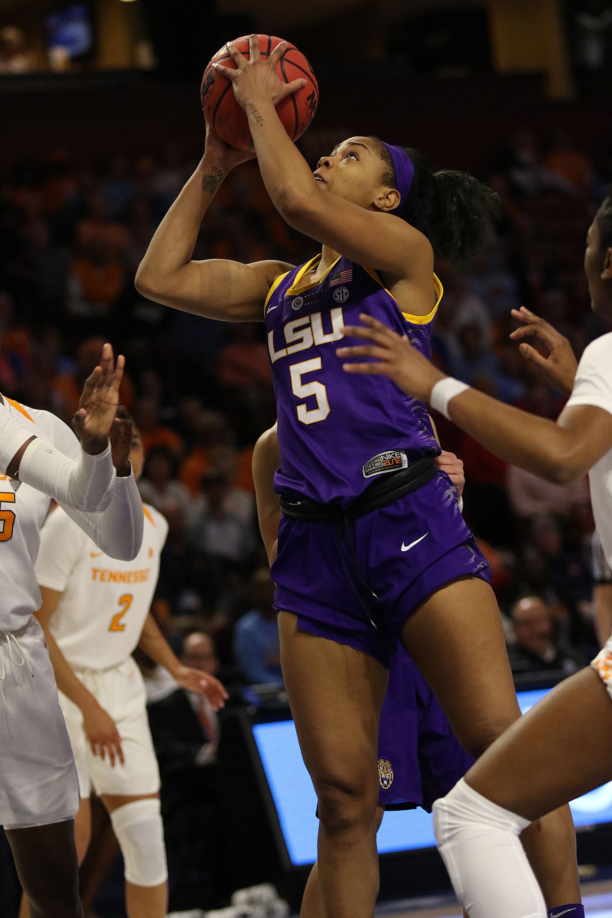 COLLEGE BASKETBALL: MAR 07 SEC Conference Women's Tournament - LSU vs Tennessee