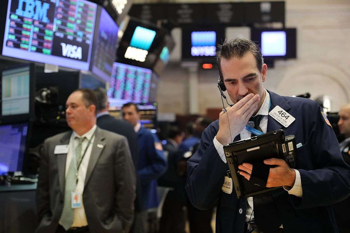 Markets React To Federal Reserve Interest Rate Announcement