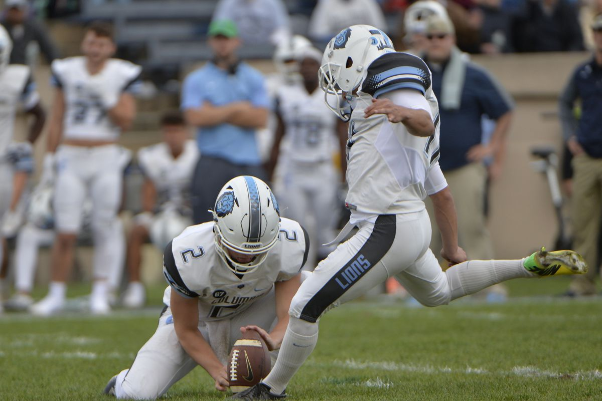 COLLEGE FOOTBALL: OCT 28 Columbia at Yale