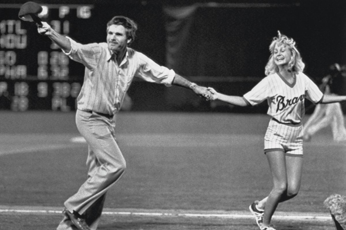 Ted Turner and Girl Dancing