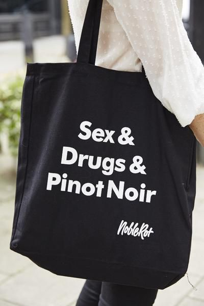 Noble Rot wine bar and restaurant totebag