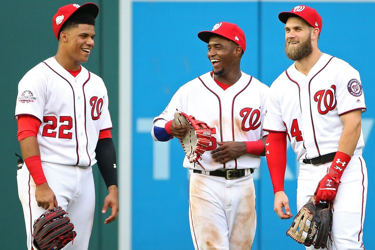 new style 46ad3 d3ed9 Victor Robles puts together four-hit game in home finale ...