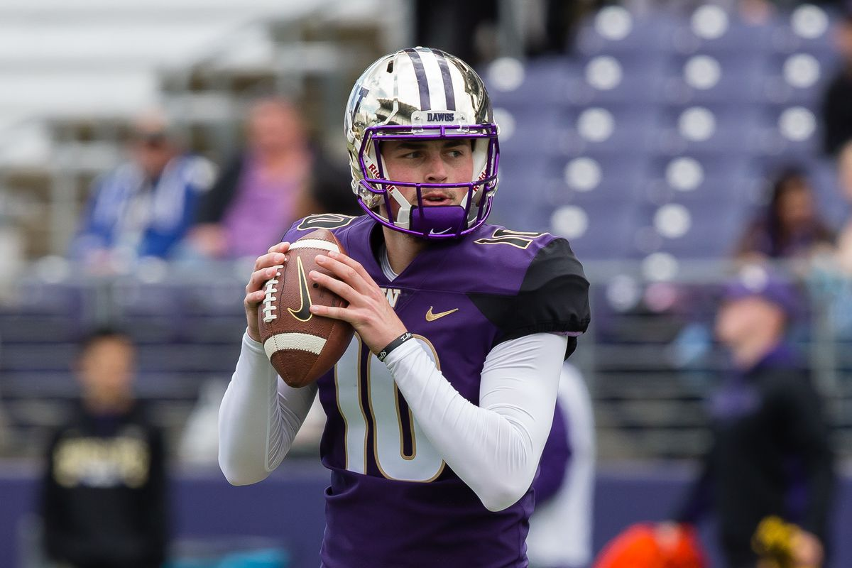 Friday Dots: Sources reporting Jacob Eason to be named the starting QB