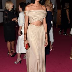 Joan Smalls in Givenchy and Eddie Borgo jewelry