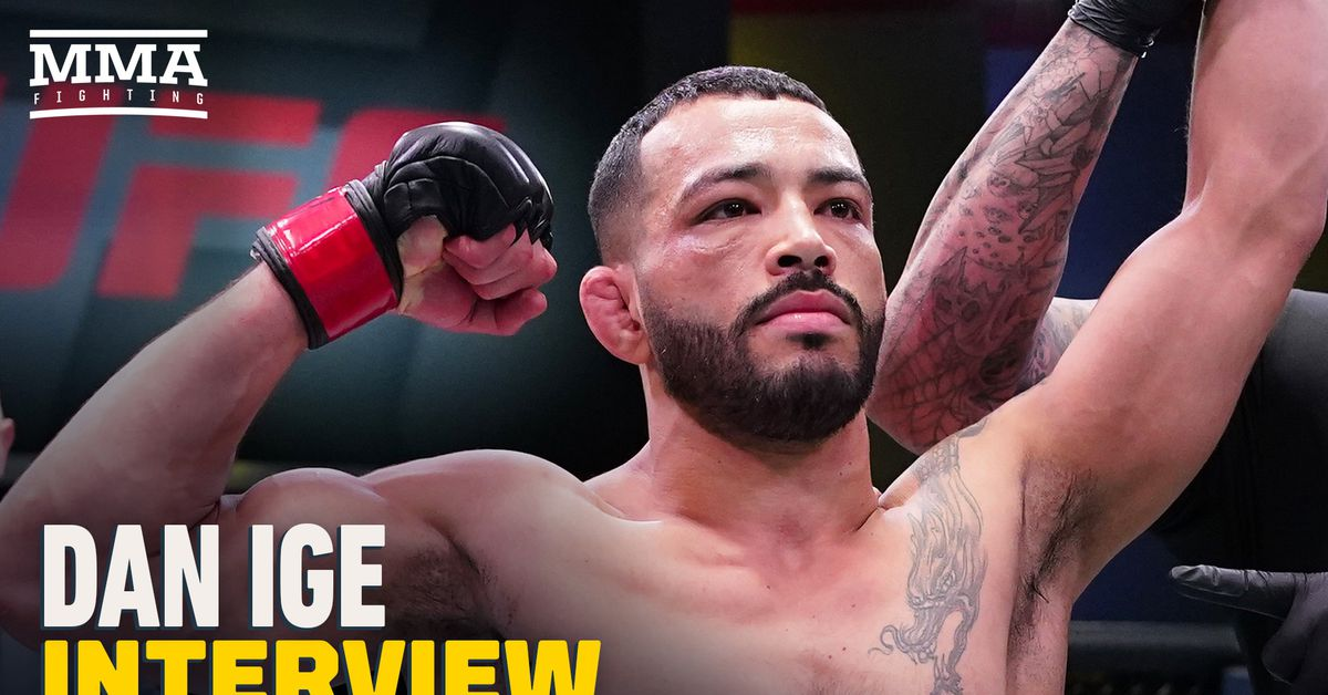 Dan Ige ready for 'zombie apocalypse,' but if TKZ tries to brawl 'he will get knocked out cold' thumbnail