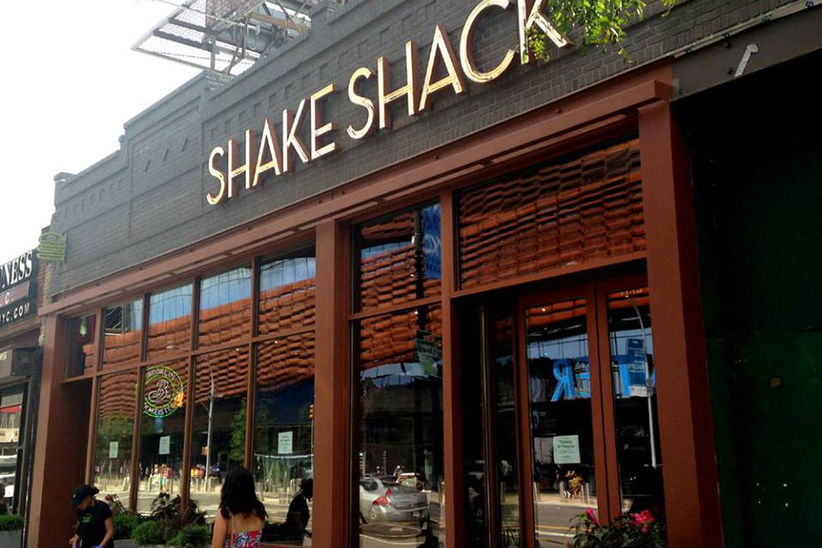 A recently opened Shake Shack in Brooklyn.