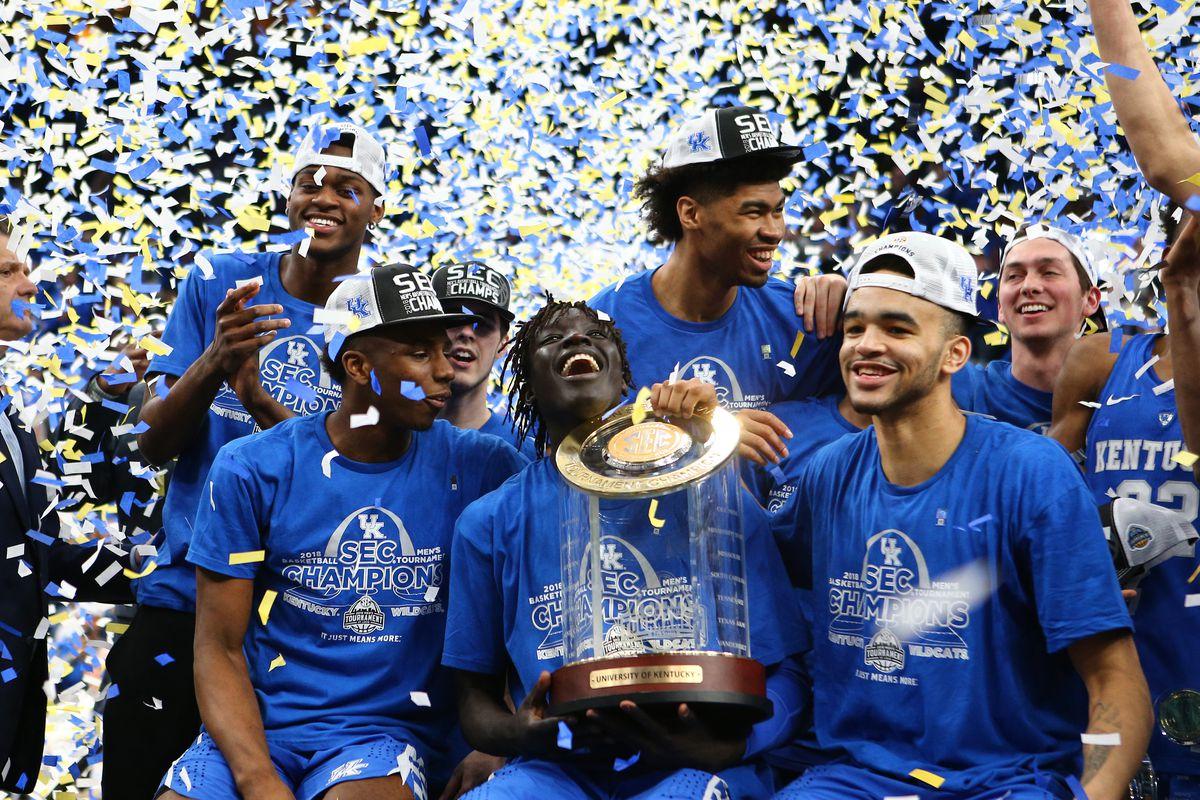 Uk Basketball: Kentucky Basketball Schedule: 2018-19 SEC Opponents