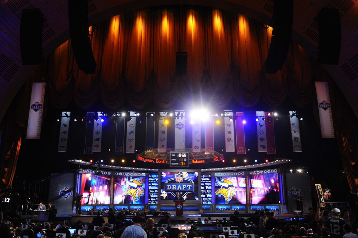 2012 NFL Draft at Radio City Music Hall in New York.