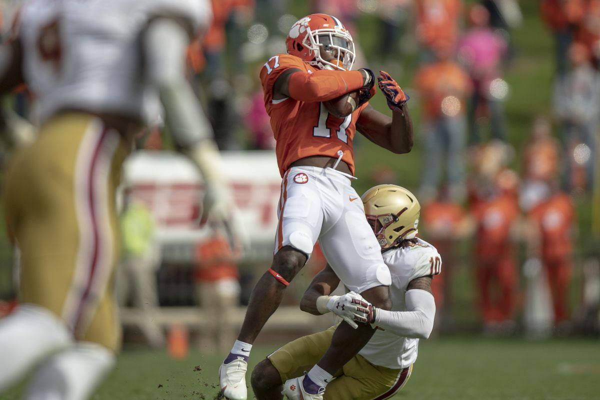 NCAA Football: Boston College at Clemson