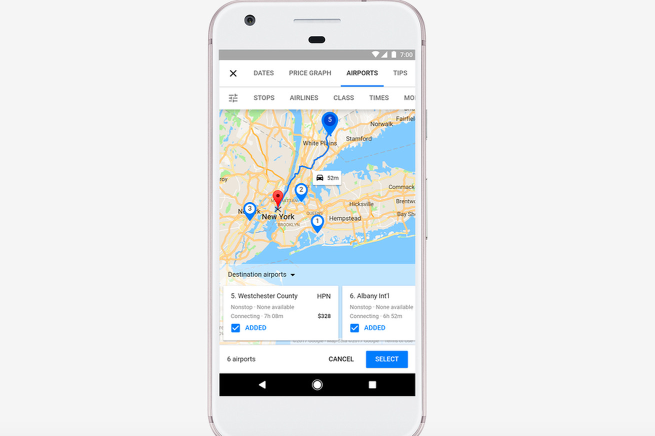 Google now offers more money saving options when you're trip